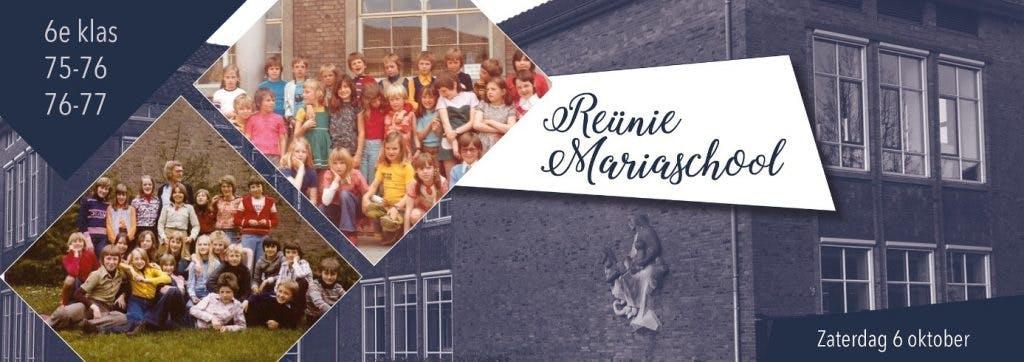 Oproep reünie Mariaschool Utrecht! Klas 6 van 1975-1976