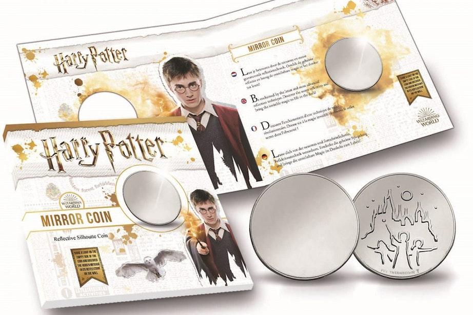 Onthulling speciale munt in Harry Potter-winkel Hoog Catharijne