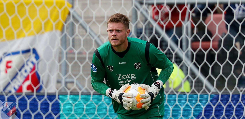 FC Utrecht-goalie David Jensen opgeroepen voor Deense nationale ploeg