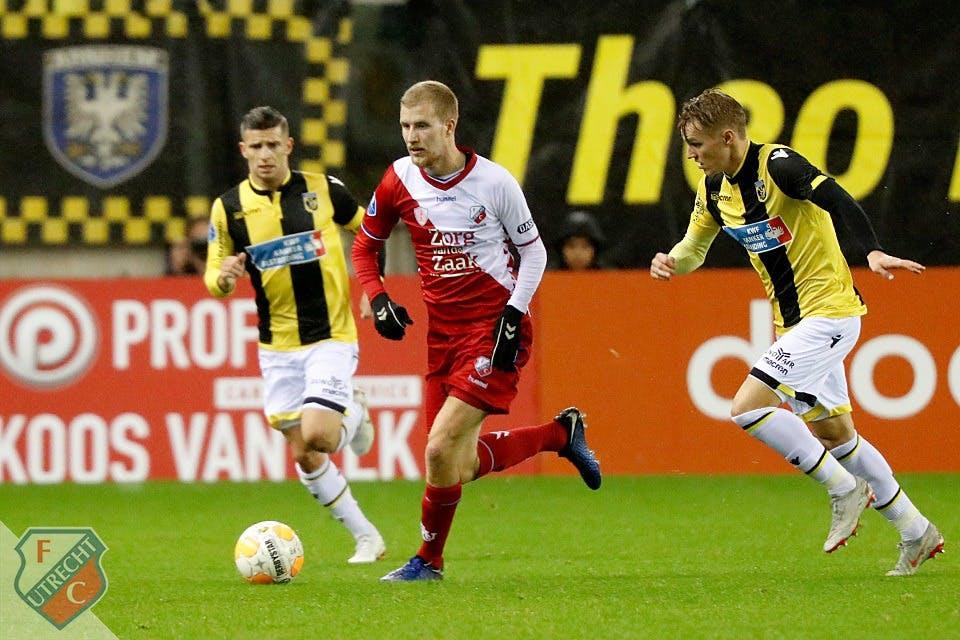 FC Utrecht verliest van en bij Vitesse