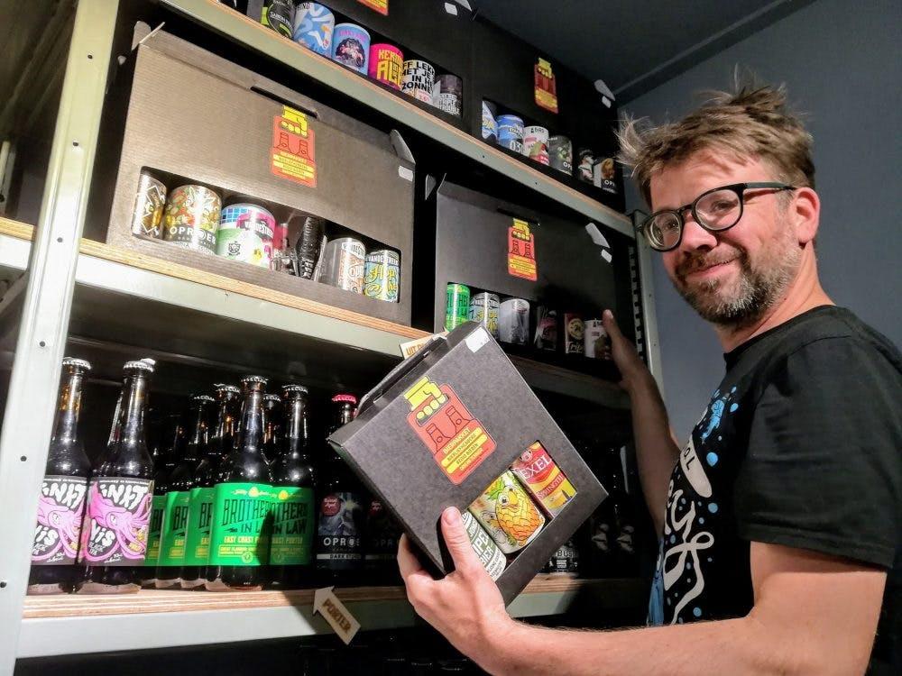 Driemeterbier opent 'Little beershop' op Hardebollenstraat