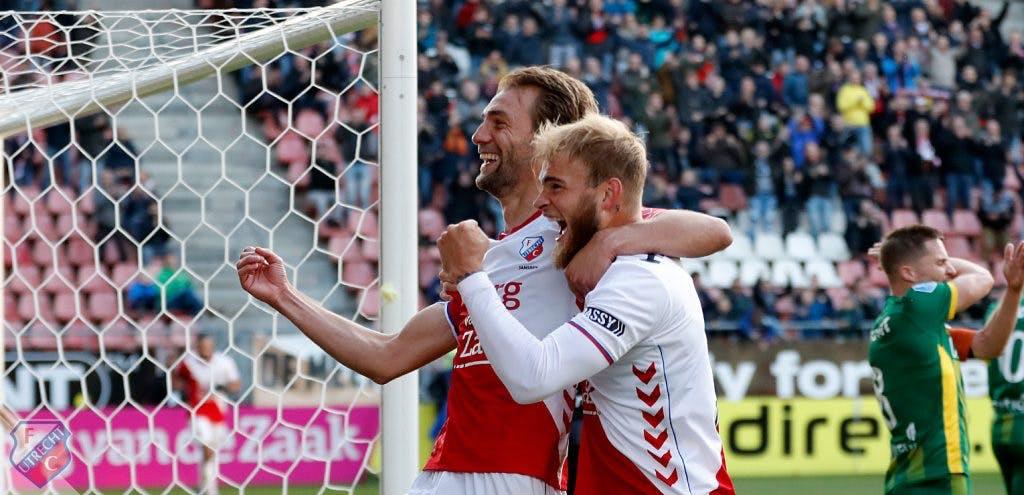 Slecht spelend FC Utrecht wint ook van ADO Den Haag