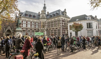 Honderden fietsers protesteren tegen verbreding A27
