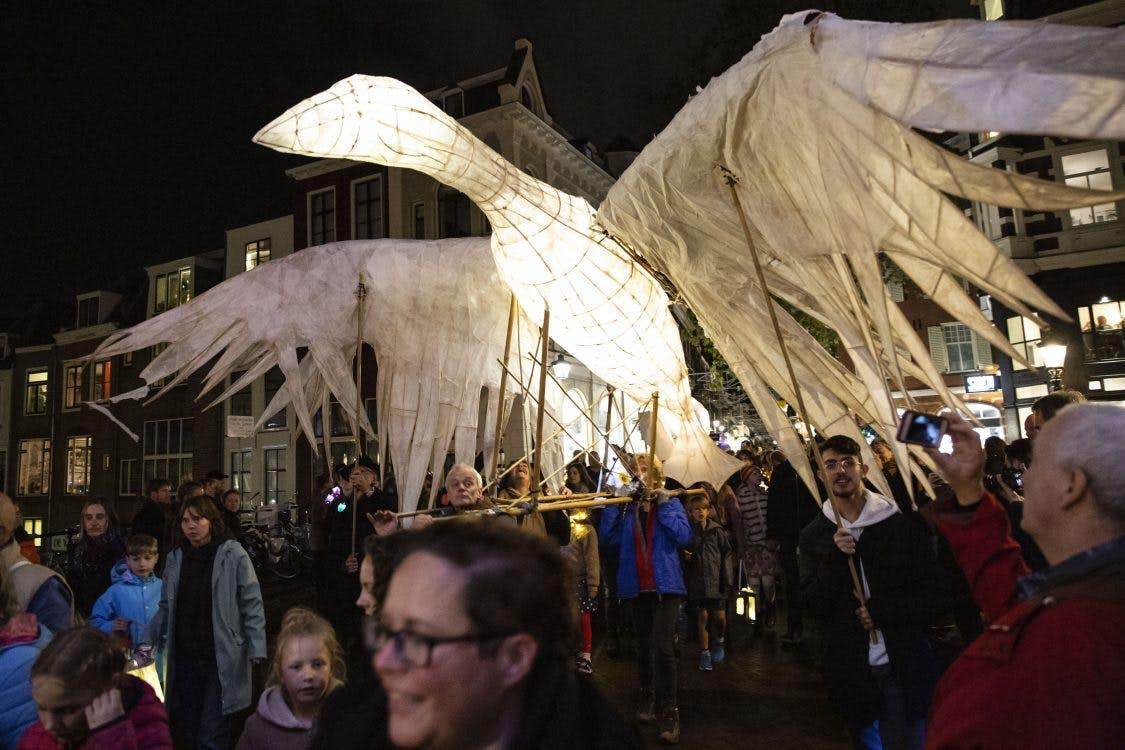 Sint Maarten Parade trekt door Utrechtse binnenstad