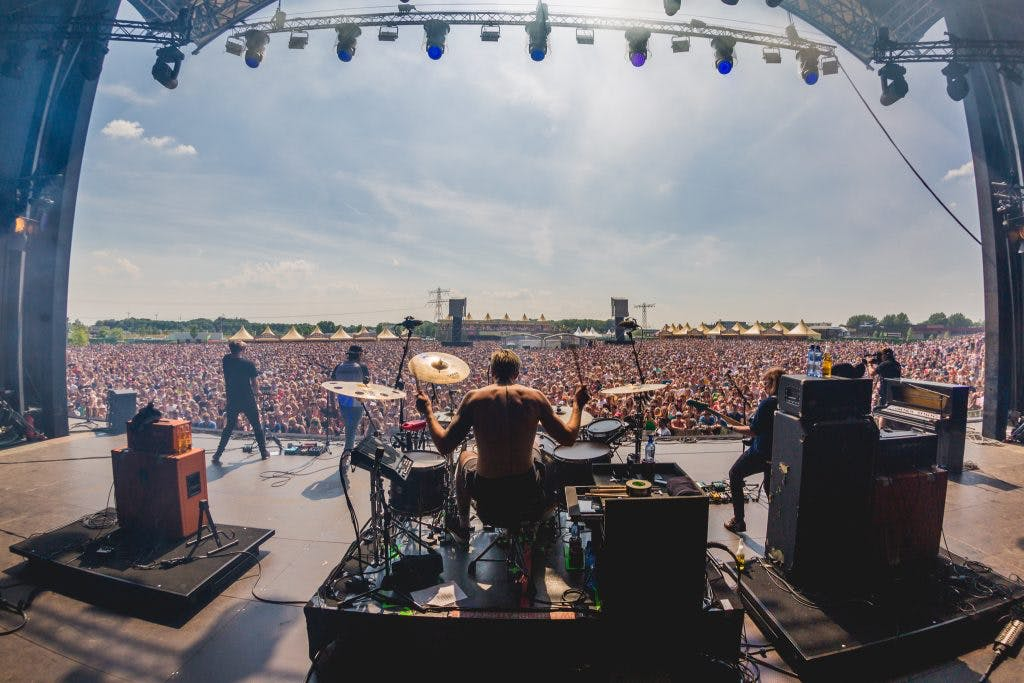 Kaiser Chiefs, BLØF en Jeugd van Tegenwoordig op Utrechts festival Central Park