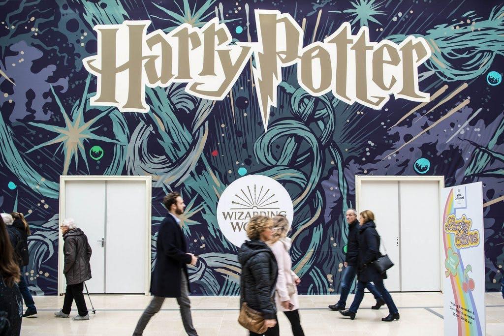 Harry Potter voor 9 3/4 weken in Hoog Catharijne