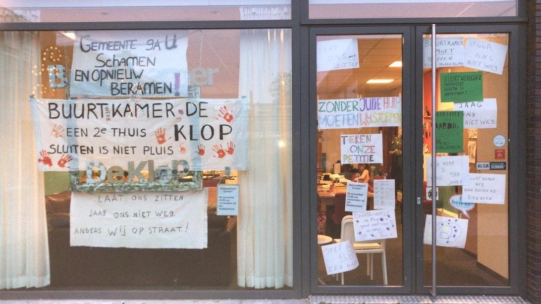 Gemeente denkt mee over oplossing openhouden buurtkamer De Klop