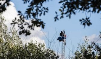 Zeven krakers gearresteerd bij ontruiming The Swamp