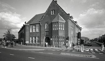 Dr. De Visserschool vereeuwigd op hoek Vondellaan-Croesestraat