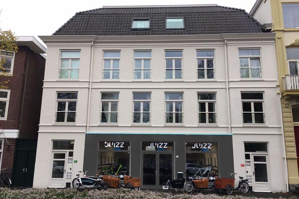 Fietswinkel JUIZZ heeft nieuw onderkomen aan Utrechtse Biltstraat