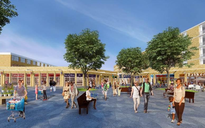 Gemeente komt met maatregelen tegen verkeersdrukte bij winkelcentrum De Gaard