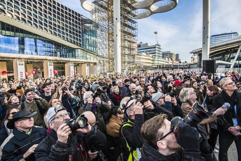 Fotografisch jaaroverzicht 2018: van demonstraties en storm tot kunst en ijspret