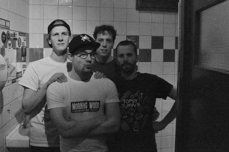 Utrechtse punkband Sidewalk viert 10-jarig bestaan in de ACU