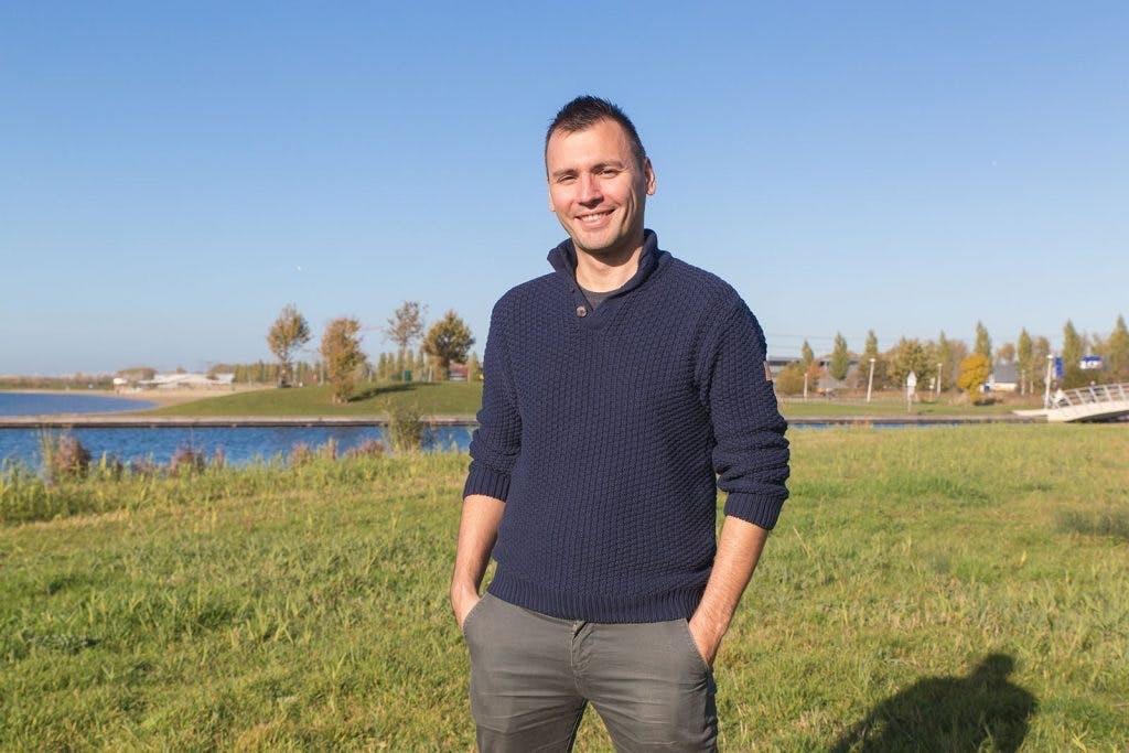 Allemaal Utrechters – Matija Lukić: 'Ik ontdek steeds nieuwe plekken als ik naar mijn werk fiets'