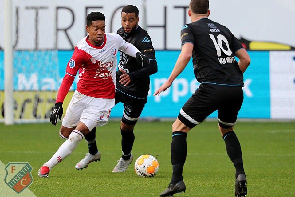 FC Utrecht swingt naar vierde plaats met zege op concurrent Heracles Almelo