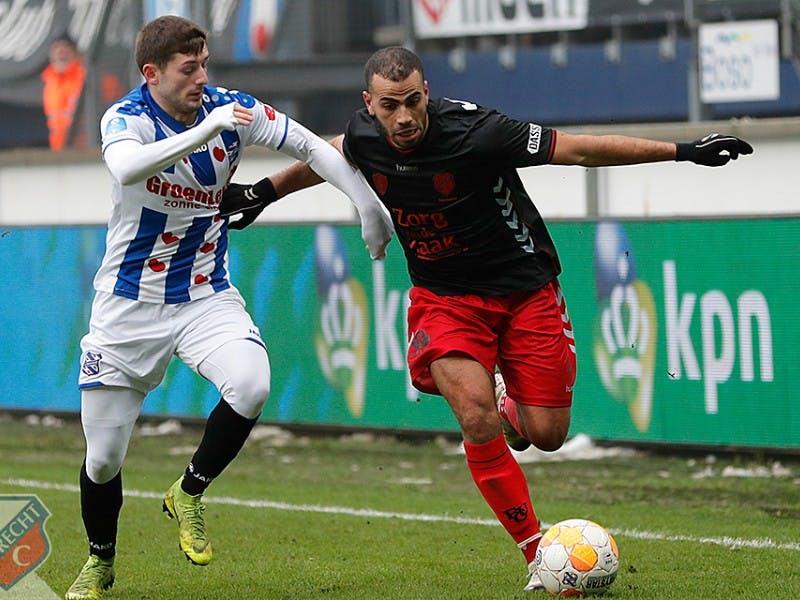 FC Utrecht steviger op plek vier na zege bij Heerenveen