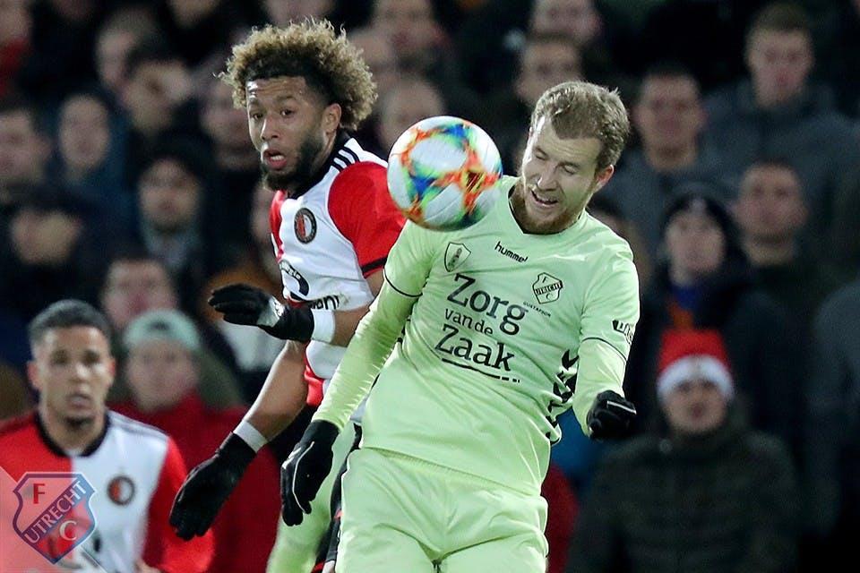 Bekeravontuur FC Utrecht eindigt in De Kuip