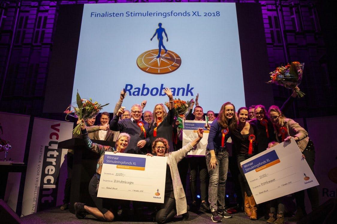 Winnaars Stimuleringsfonds XL van Rabobank bekend