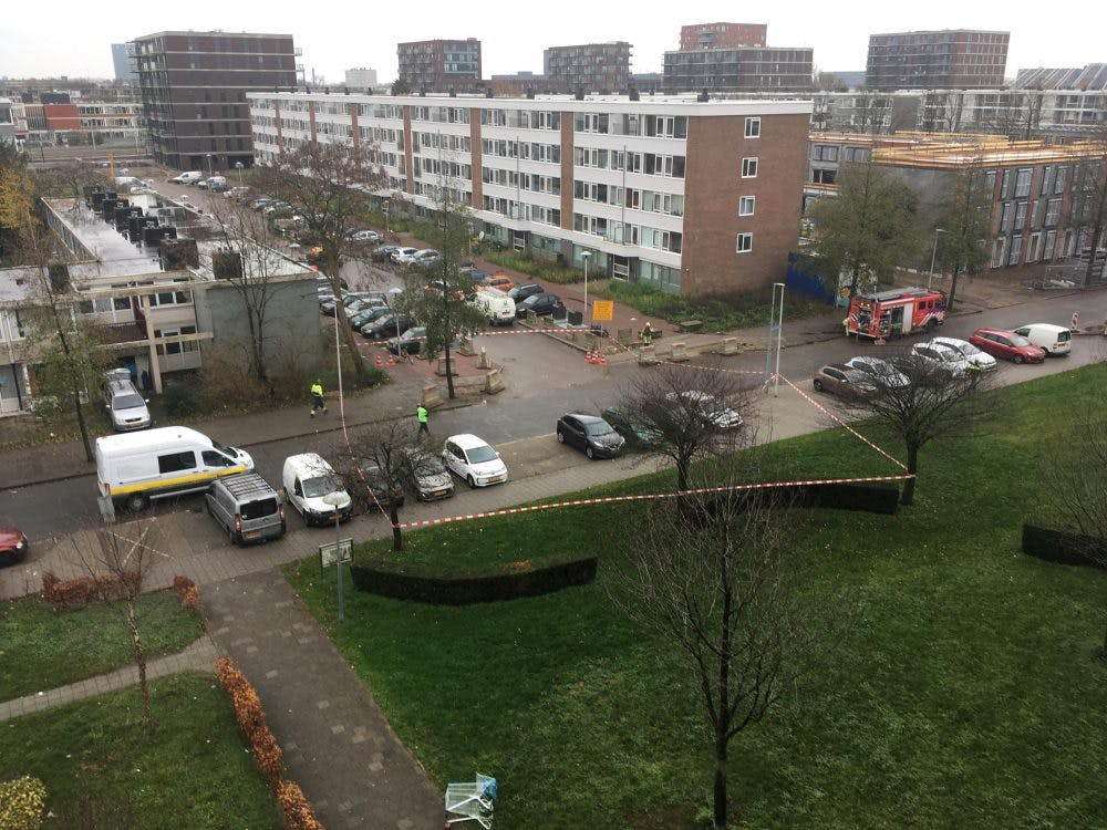 Gaslek op de Monnetlaan in Utrecht: aantal huizen ontruimd