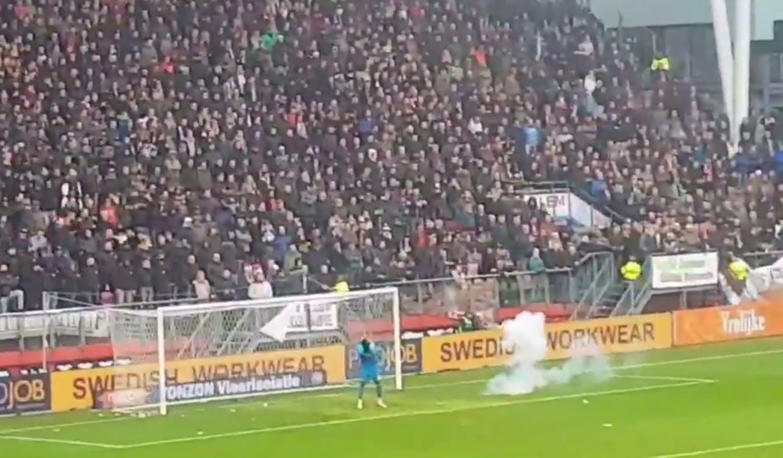 Utrechter die vuurwerk naar Ajax-keeper gooide krijgt taakstraf
