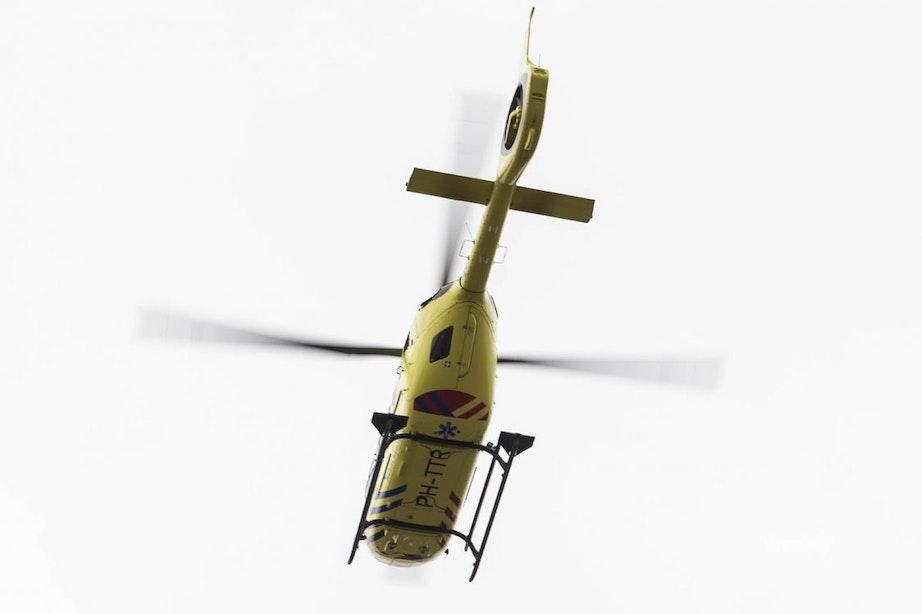 Traumahelikopter ingezet bij ernstig ongeluk op 5 Meiplein