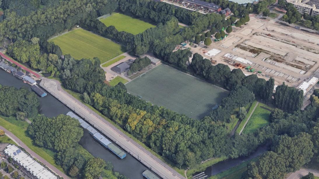 Sportpark Vechtzoom in Overvecht krijgt twee nieuwe hockeyvelden