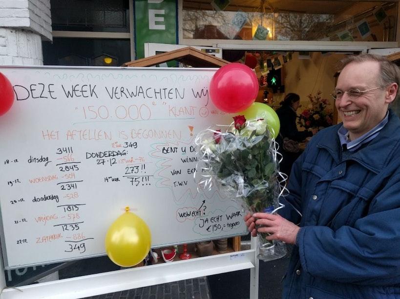 150.000e klant voor Kringloopwinkel de ARM Utrecht
