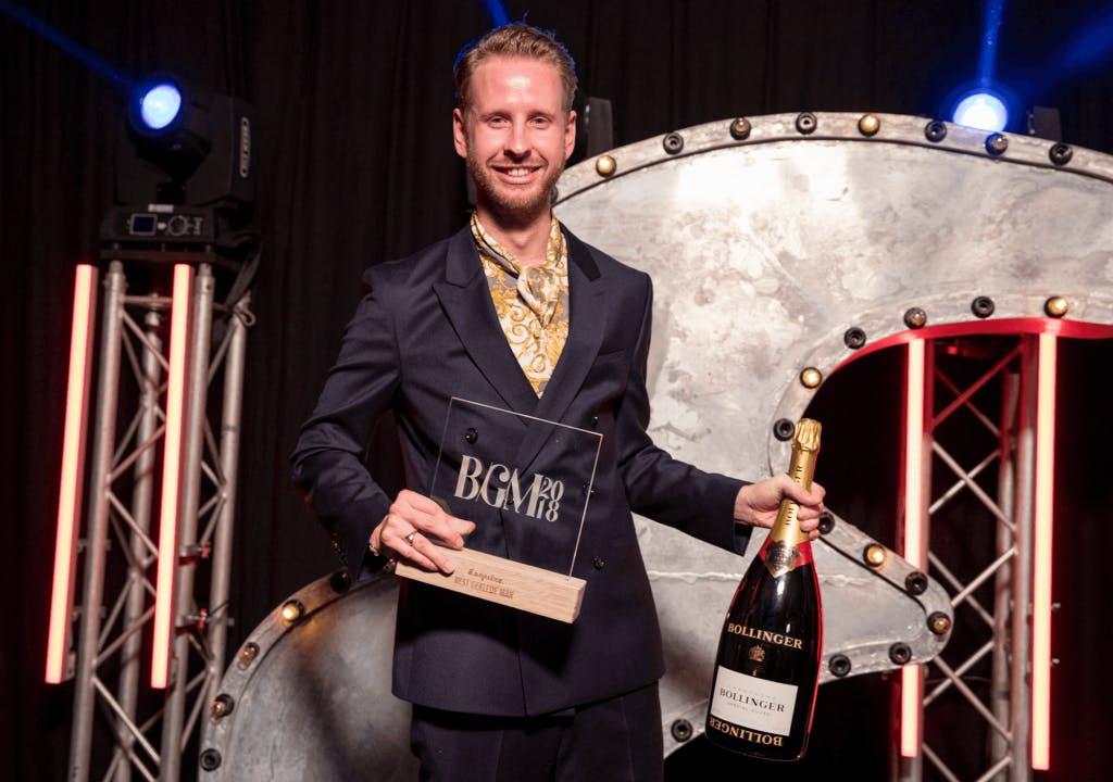 Utrechter Daan Boom Best Geklede Man van 2018