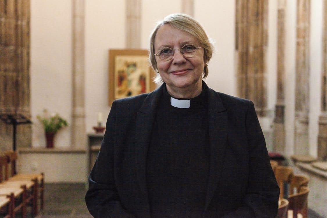 Dominee Netty de Jong-Dorland neemt na 12 jaar afscheid van de Domkerk