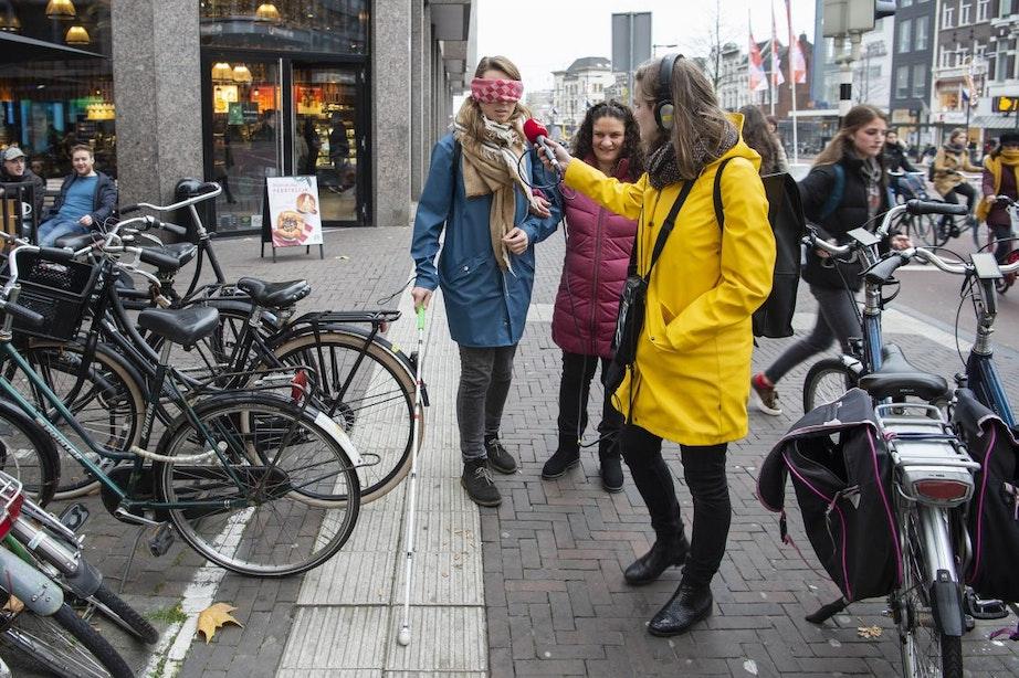 Hoe het is om als blinde door Utrecht te lopen
