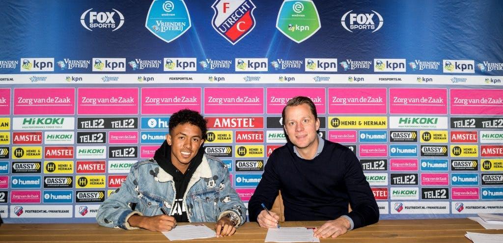 FC Utrecht huurt 18-jarig talent van Borussia Dortmund