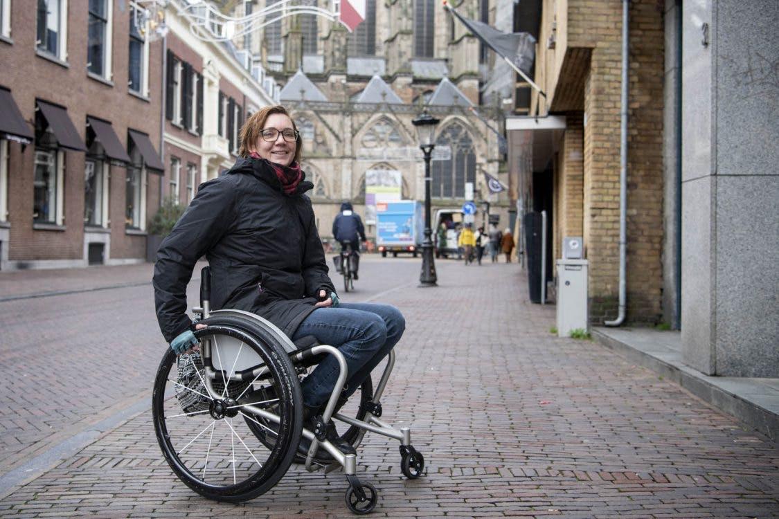 Hoe het is om in een rolstoel te zitten in Utrecht