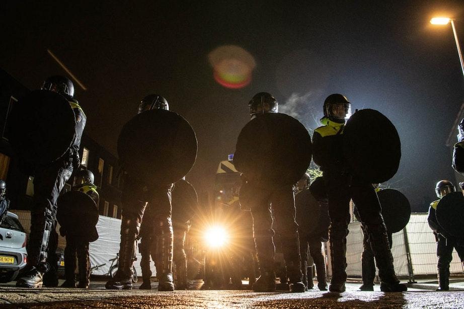 Burgemeester: '15 meldingen van vernielingen na demonstratie in Zuilen'