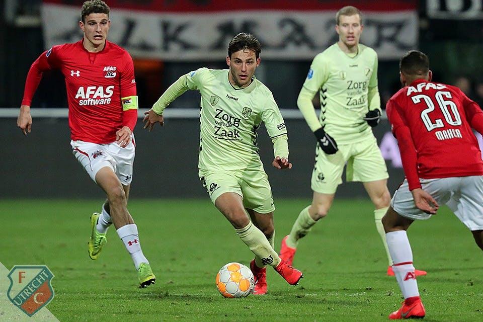 FC Utrecht verliest in Alkmaar en is vierde plek kwijt
