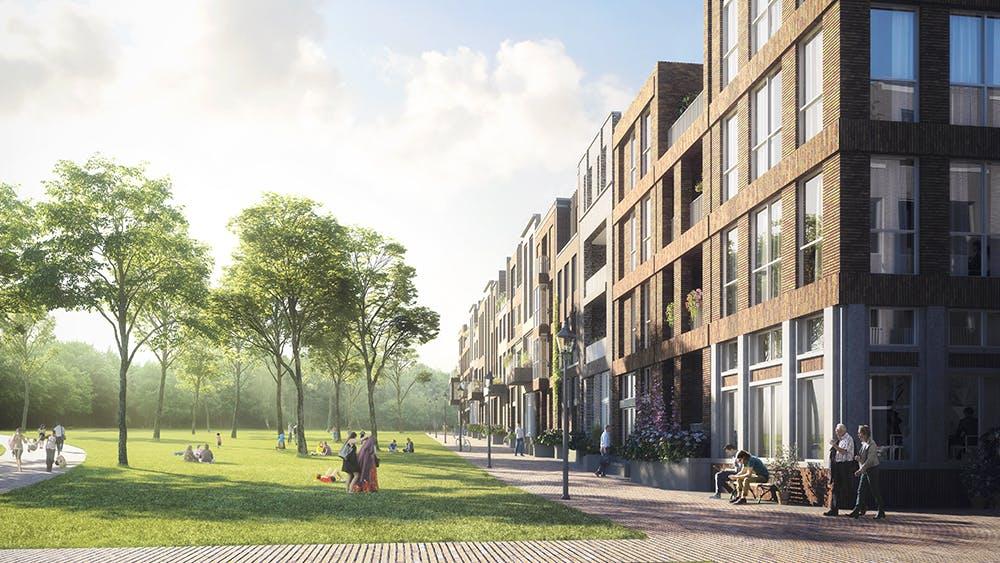 Nieuwbouw Utrecht; Charme van toen in een woning van nu