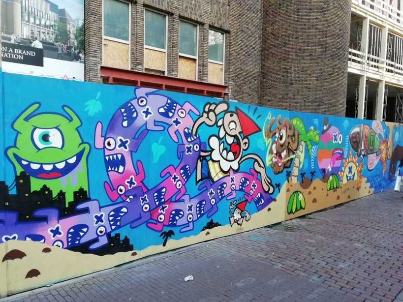 Op street art tour door Utrecht: 'Mensen zijn vaak alsnog verrast'