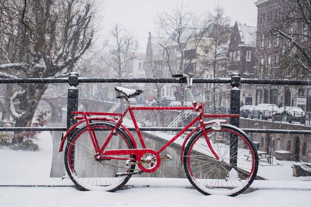 Sneeuw in Utrecht levert veel mooie plaatjes op