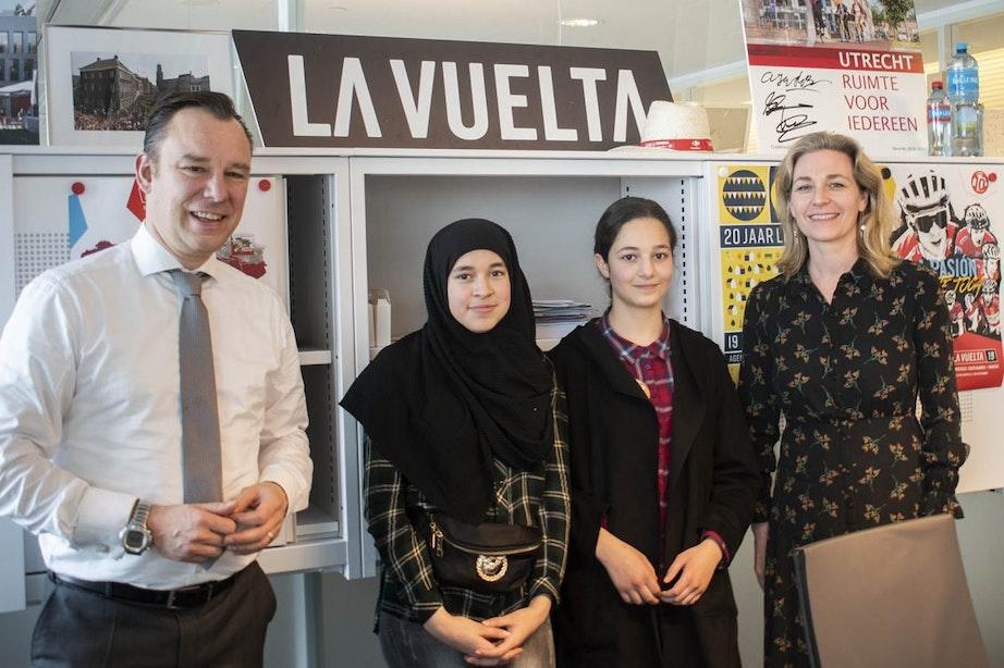 Kinderen voor een dag wethouder van Utrecht