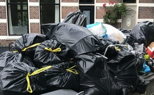Utrechters mogen vanaf maart vuilniszakken en kliko's vroeger buitenzetten