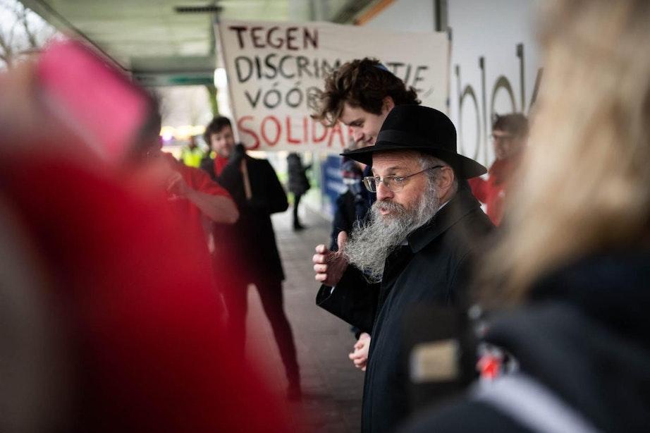 'Utrechters tegen antisemitisme' in Kanaleneiland
