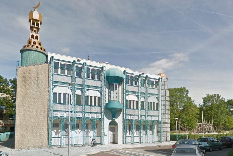 Omgeving moskee extra beveiligd in verband met demonstratie Pegida