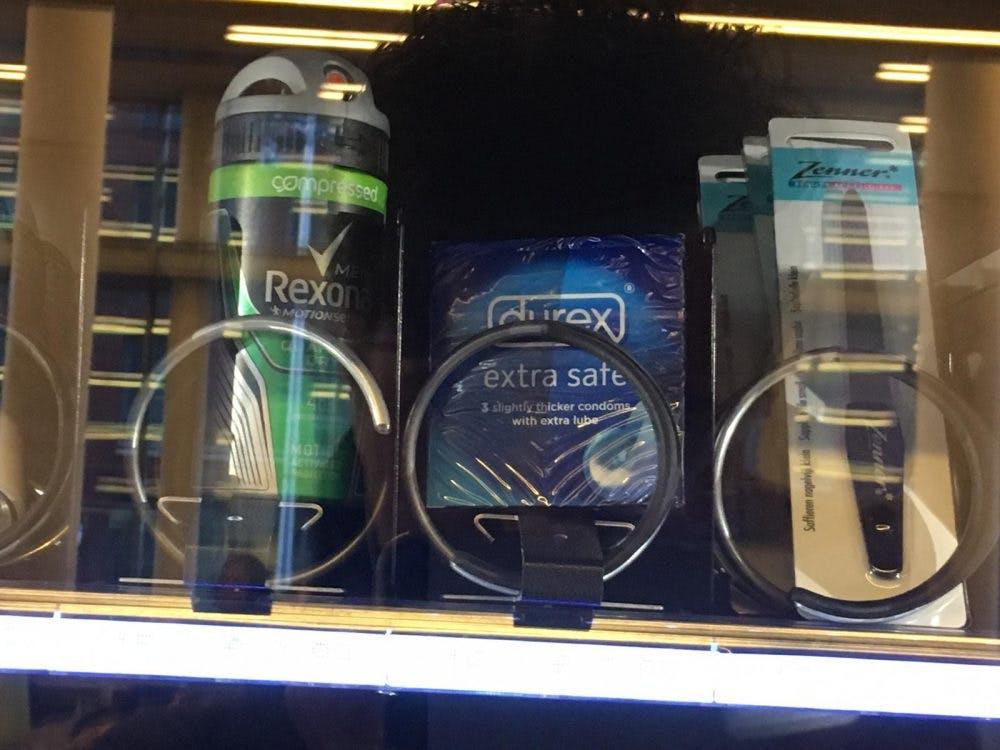 Condooms komen snel terug in automaten Hogeschool Utrecht