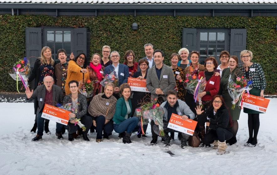 Twee Utrechtse stichtingen finalist voor Appeltjes van Oranje