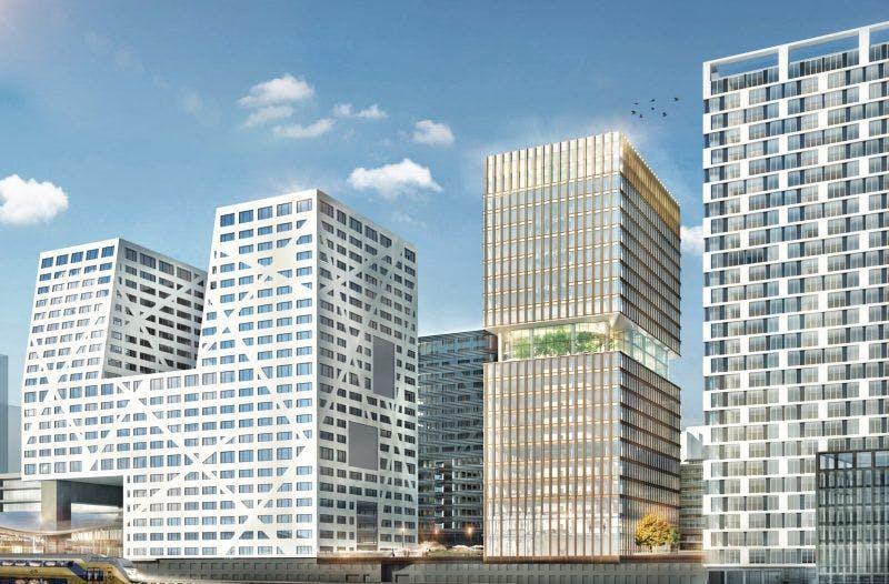 Bouw van 90 meter hoge toren Central Park begonnen