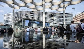 Nieuw gedeelte Stationsplein in mei open
