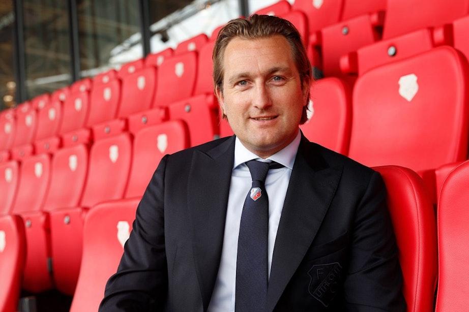 Interview Joost Broerse: 'Nike is goed voor de uitstraling van FC Utrecht'