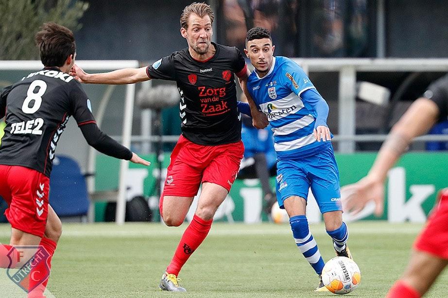 FC Utrecht geeft ruime voorsprong weg in Zwolle