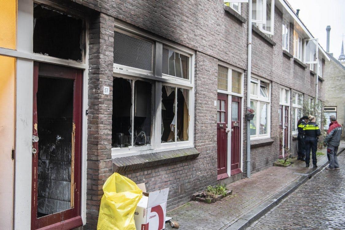 Dode bij woningbrand in binnenstad Utrecht
