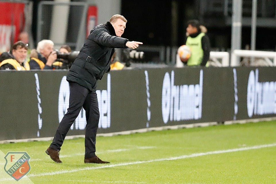 Trainer Robin Pronk vertrekt bij Jong FC Utrecht