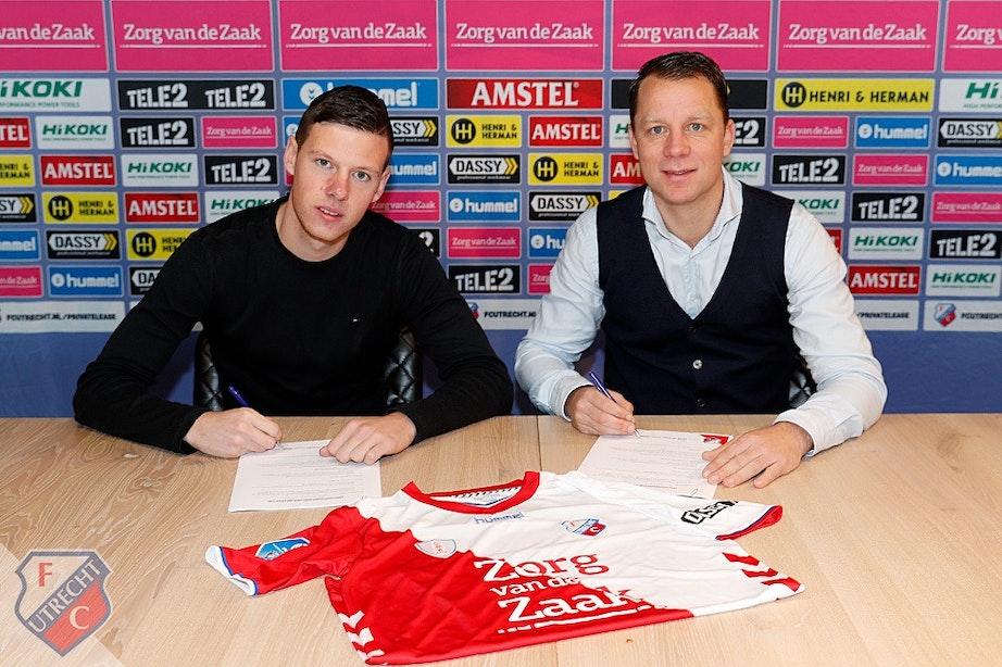 FC Utrecht verlengt contract Nick Venema tot zomer 2023